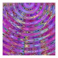 The Ripple Effect VIII, Fuchsia by Titania Designs