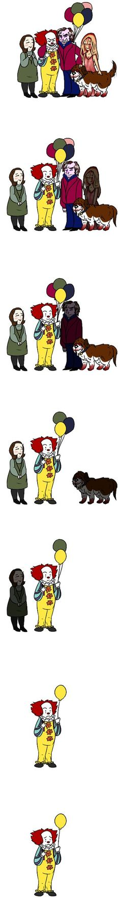 Wait what happened what pennywise no