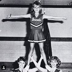 Can You Match the Celeb to the #TBT Photo? (Spoiler Alert: It's Hard) | SQUAD GOALS | This junior high cheerleader had us reaching for our pom-poms when she won a Golden Globe, Screen Actors Guild Award and an Oscar in 2006.