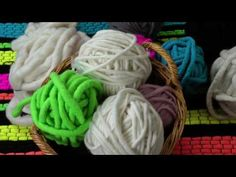 How to spin chunky yarn - YouTube