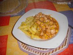 Kuracie soté so zeleninou (fotorecept) - recept | Varecha.sk Risotto, Macaroni And Cheese, Food And Drink, Pizza, Nova, Ethnic Recipes, Cooking, Mac And Cheese