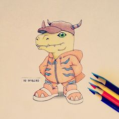 Artist: Itsbirdy | Digimon