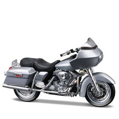 Miniatura Moto Harley-Davidson 2002 FLTR Road Glide Maisto 1:18 - Machine Cult | A loja das camisetas de carro e moto