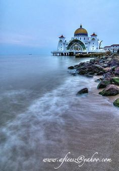 Masjid selat 1 Water, Outdoor, Gripe Water, Outdoors, Outdoor Games, The Great Outdoors
