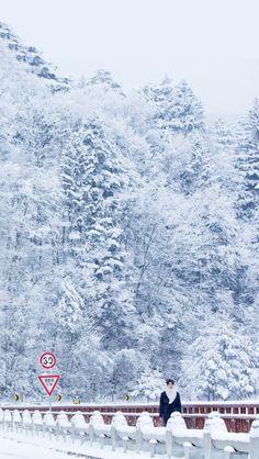 Asian Celebrity Wallpapers — Goblin's beautiful scenery wallpapers, requested. Goblin Korean Drama Wallpaper, Beautiful Scenery Wallpaper, Idol 3, Goong Yoo, Won Bin, Pastel Iphone Wallpaper, Goblin Kdrama, In The Air Tonight, Yoo Gong