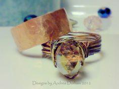 Bohemian Copper Ring.