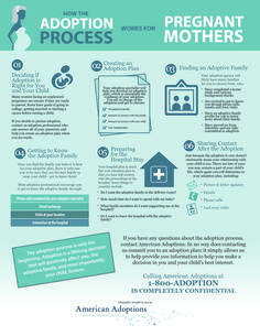 The Adoption Process for Pregnant Women [Printable Version]   Visit our site to learn more about American Adoptions: http://www.americanadoptions.com/pregnant/adoption_process