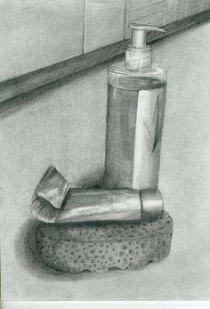 Dibujo a lápiz. Trabajo de Navidad. 21x30. Paula Gastaminza. 2011
