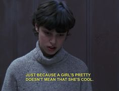 I do believe that Sam Weir (from Freaks and Geeks) is very relatable and realistic...