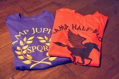Percy Jackson and the Olympians (Camp Half-Blood) and Heroes of Olympus (Camp Jupiter) t-shirts | Fashion World