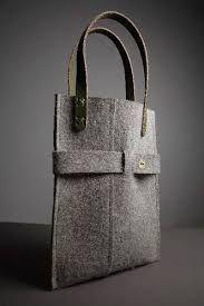 Risultati immagini per felt bag Purses And Handbags, Leather Handbags, Leather Bag, Felt Purse, Felt Bags, Felt Pouch, Sacs Design, Diy Handbag, Jute Bags
