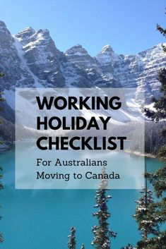 Working Holiday Checklist for Australian Moving to Canada / Working Holiday Tips / Working Holiday Canada / Working holiday Australia / Working Holiday Ideas / Working Holiday Fun / Working Holiday Budget Moving To Canada, Canada Travel, Canada Trip, Slow Travel, Rome Travel, Best Restaurants In Rome, Holiday Checklist, Moving Overseas, Canada Holiday