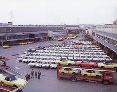 Bertone Factory (Alfa Romeo Bertone, Fiat Dino Coupe and Abarth 850 Spider)