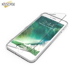 KISSCASE For iPhone 7 iPhone 6S Plus Case Clear Transparent Soft TPU Flip Phone  #OnlineMallExpress