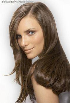 Dark ash blonde, light ash brown hair