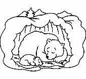 Hibernating Bear Coloring Pages Free - Printable Coloring Pages Coloring Pages For Grown Ups, Heart Coloring Pages, Preschool Coloring Pages, Animal Coloring Pages, Free Printable Coloring Pages, Free Coloring Pages, Coloring Sheets, Coloring Pages Winter, Adult Coloring