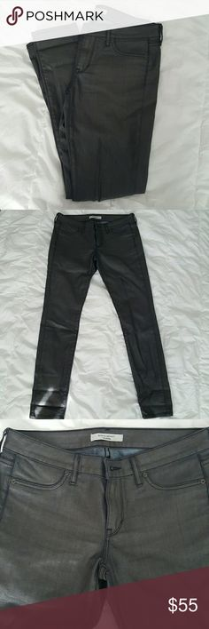 "Rich and Skinny coated skinnies Luxurious Rich and Skinny jeans. Worn once. Excellent condition. Size 28. Inseam 29"". Rich & Skinny Jeans Skinny"