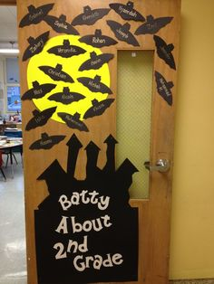 Drug Free Door Decorations | we are batty about being drug free & halloween door decorations - Google Search | Teacher Ideas for FALL ...
