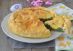 Torta Pasqualina, la torta salata per eccellenza che a Pasqua e Pasquetta non può assolutamente mancare, farla è semplice e fredda è ancora più buona