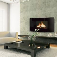 Celsi Puraflame Curved Electric Fire | 2kW - Prime Stove - 1