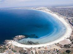Air view of Forte Beach, Cabo Frio - Brazil