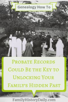 How to Use Probate Records in Your Genealogy Research Free Genealogy Sites, Genealogy Research, Family Genealogy, Genealogy Forms, Marriage Records, Birth Records, Vital Records, Public Records, Free Family Tree