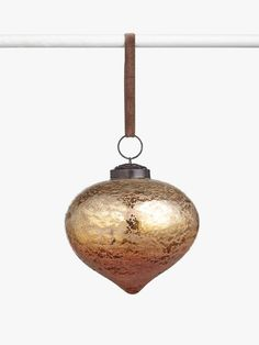 Buy John Lewis & Partners Campfire Foiled Onion Bauble, Copper from our Baubles & Tree Decorations range at John Lewis & Partners. Christmas Tree Baubles, Christmas Colors, Christmas Themes, Christmas Tree Decorations, Holiday Decor, Christmas 2019, John Lewis, Copper, Ceiling Lights