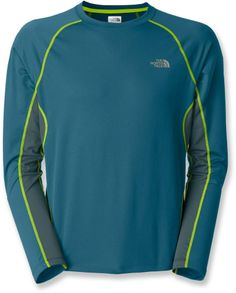 The North Face GTD long-sleeve shirt boosts your comfort during cool-weather runs and fast workouts. #REIGifts