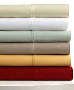 420 Thread Count Egyptian Cotton 6 Piece Sheet Sets - Sheets - Bed & Bath - Macy's