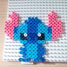 Stitch hama beads by Victoria