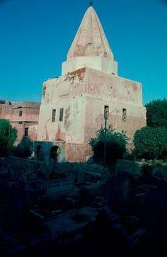 Shrine of Mashhad al-Imam 'Awn al-Din, Mosul, Iraq (c) Yasser Tabbaa, 1983 [IRQ0091]; MIT Libraries' Aga Khan Visual Archive (AKVA), no date; Archnet, no date