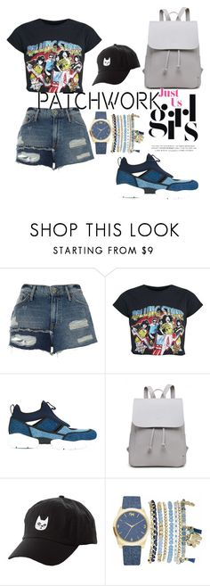 """""""patchyourheart"""" by blue4828 ❤ liked on Polyvore featuring River Island, MSGM, Charlotte Russe and Mixit"""