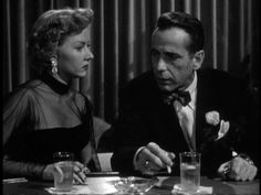 In a Lonely Place (1950) directed by Nicholas Ray, starring Humphrey Bogard and Gloria Grahame
