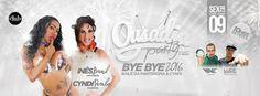 Divulgartes by Fagner Harry: Ousadia Party-Bye Bye 2016 com Inês Brasil e Cyndi...