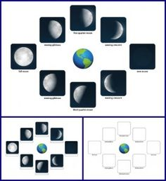Phases of the Moon worksheet    Gift of Curiosity