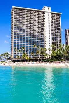 Places to visit in Hawaii. Stay at the Hilton Hawaiian Village on Waikiki Beach. Just beautiful and great for kids. #WaikikiBeach #Hawaii #Travel #Oahu