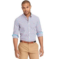 Tommy Hilfiger men's shirt. Available in an array of colors.