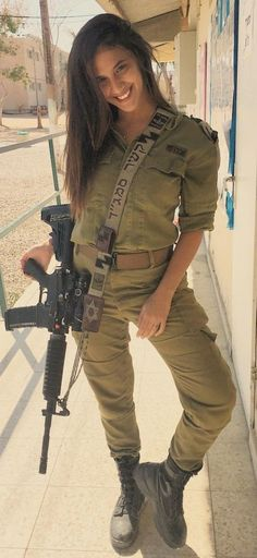 Amazing WTF Facts: Beautiful women in Israel Defense Forces - IDF Army Girls - Israel Military Women - Israeli Female Soldiers