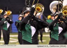 Upland High School Marching Band, California, 2014