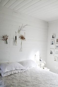 WWW. white wood wall. For those crazy wooden walls!