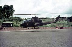 US Army Bell AH-1 Cobra at Nui Dat, 1971