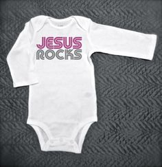 jesus girl clothing | ... Bodysuit - Children's Clothing - Baby and Toddler and Kid's Clothing