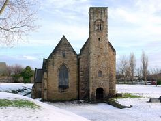 St Peter's Church, Wearmouth, Sunderland, England was the first church in England to have glass windows, built in 674