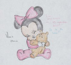 Minnie mouse baby by ~Ineoma on deviantART