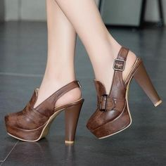 PLATFORM HIGH HEEL SHOES FOR WOMEN: Looking for a fashionable new pair of platform high heel shoes this season? These are the perfect high heel shoes to complete any women's platform heels outfits that are stylish enough for every occasion. Love these platform high heel shoes? Show us by saving this pin! #highheelshoes #shoeshighheels #shoesoftheday #shoestagram