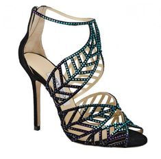 Sandali con cristalli Jimmy Choo