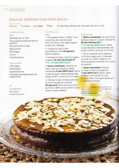 150 receitas Bimby (melhores de 2014) Happy Foods, Secret Recipe, Spanish Food, Betty Crocker, Nom Nom, Cheesecake, Goodies, Sweets, Chocolate