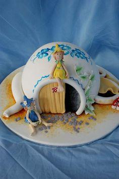 Super cute~~~Pixie Teapot House by Verusca.deviantart.com on @deviantART