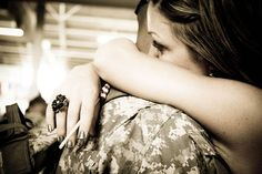i have a thing for military love..... <3