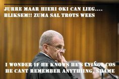 Prosecutor Gerrie Nel at Oscar Pistorius murder trial